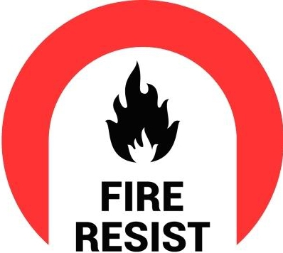 fire resist logo